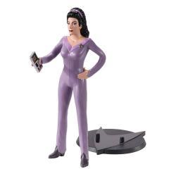 Star Trek: The Next Generation Figura Maleable Bendyfigs Counselor Troi 19 cm - Imagen 1