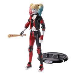 DC Comics Figura Maleable Bendyfigs Harley Quinn Rebirth 19 cm - Imagen 1