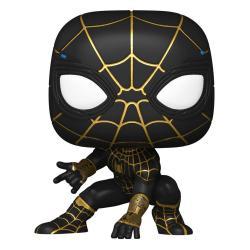 Spider-Man: No Way Home POP! Vinyl Figura Spider-Man (Black & Gold Suit) 9 cm - Imagen 1