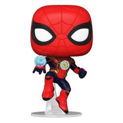 Spider-Man: No Way Home POP! Vinyl Figura Spider-Man (Integrated Suit) 9 cm - Imagen 1