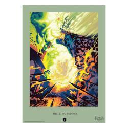 Juego de Tronos Litografia Big Brother Limited Edition 42 x 30 cm - Imagen 1