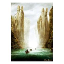 El Señor de los Anillos Litografia The Gates Limited Edition 42 x 30 cm - Imagen 1