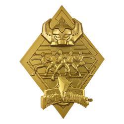 Power Rangers Medallón Limited Edition (dorado) - Imagen 1