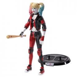 Figura Maleable Bendyfigs Harley Quinn DC Comics 19 cm - Imagen 1
