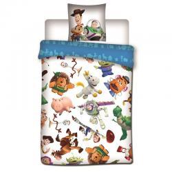 Funda nordica Toy Story Disney cama 90cm microfibra - Imagen 1