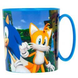 Taza Sonic the Hedgehog microondas - Imagen 1
