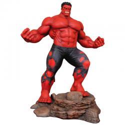 Figura diorama Red Hulk Marvel 25cm - Imagen 1
