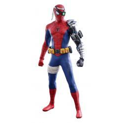 Spider-Man Figura Videogame Masterpiece 1/6 Cyborg Spider-Man Suit 2021 Toy Fair Exclusive 30 cm - Imagen 1