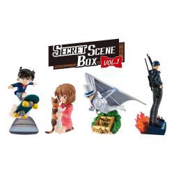 Detective Conan Petitrama Series Figuras 8 cm Secret Scene Box Vol. 1 Surtido (4) - Imagen 1