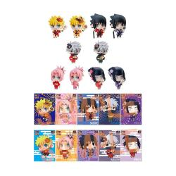 Naruto Shippuden Petit Chara Land Pack de 10 Figuras 10th Anniversary Ver. 6 cm - Imagen 1