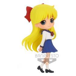 Sailor Moon Eternal The Movie Minifigura Q Posket Minako Aino Ver. A 14 cm - Imagen 1