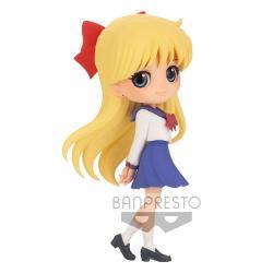 Sailor Moon Eternal The Movie Minifigura Q Posket Minako Aino Ver. B 14 cm - Imagen 1