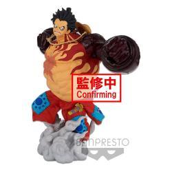 One Piece Estatua BWFC 3 Super Master Stars Piece Monkey D. Luffy Gear4 The Original 22 cm - Imagen 1