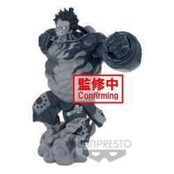 One Piece Estatua BWFC 3 Super Master Stars Piece Monkey D. Luffy Gear4 The Tones 22 cm - Imagen 1
