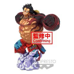One Piece Estatua BWFC 3 Super Master Stars Piece Monkey D. Luffy Gear4 Two Dimensions 22 cm - Imagen 1