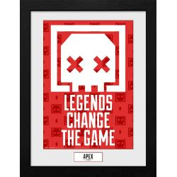 Apex Legends Póster Enmarcado Collector Print Legends Change The Game - Imagen 1