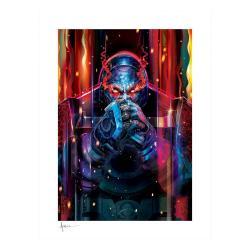 DC Comics Litografia Darkseid #37 46 x 61 cm - enmarcado - Imagen 1