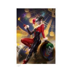 DC Comics Litografia Harley Quinn & The Joker #37 46 x 61 cm - enmarcado - Imagen 1