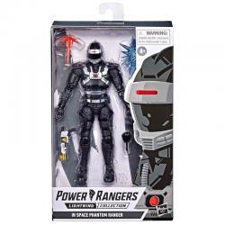 Figura Black Ranger Power Rangers In Space 15cm - Imagen 1