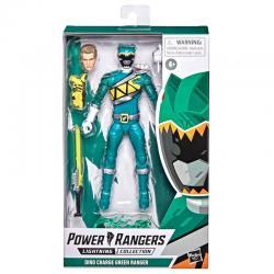 Figura Green Ranger Power Rangers Dino Charge 15cm - Imagen 1