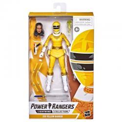 Figura Yellow Ranger Power Rangers Zeo 15cm - Imagen 1