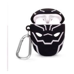 Marvel PowerSquad Caja de Carga Inalámbrica para AirPods Black Panther - Imagen 1