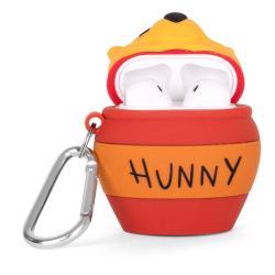 Disney PowerSquad Caja de Carga Inalámbrica para AirPods Winnie the Pooh - Imagen 1
