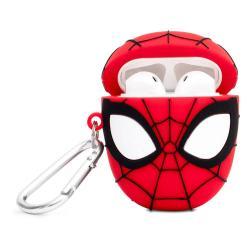 Marvel PowerSquad Caja de Carga Inalámbrica para AirPods Spiderman - Imagen 1