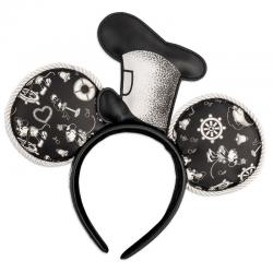 Diadema orejas Steamboat Willie Mickey Mouse Disney Loungefly - Imagen 1