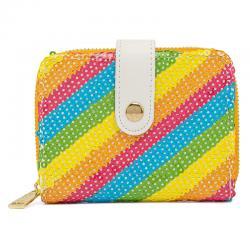 Cartera Rainbow Minnie Disney Loungefly - Imagen 1