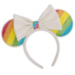 Diadema orejas Rainbow Minnie Disney Loungefly - Imagen 1