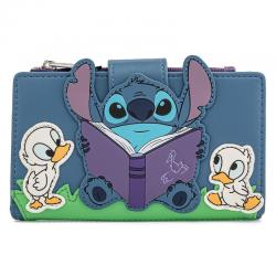 Cartera Story Time Duckies Lilo and Stitch Disney Loungefly - Imagen 1