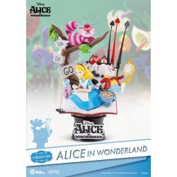 Alicia en el País de las Maravillas Diorama PVC D-Select 15 cm - Imagen 1
