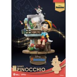 Disney Classic Animation Series Diorama PVC D-Stage Pinocchio 15 cm - Imagen 1