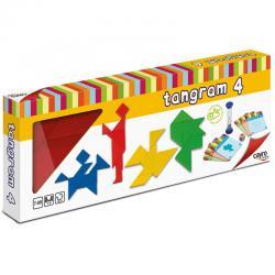 4 Tangrams Madera - Imagen 1