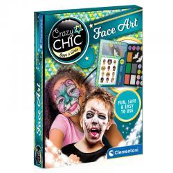 Pinturas de Cara Halloween Crazy Chic - Imagen 1