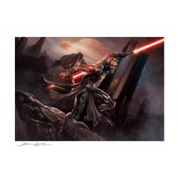 Star Wars Litografia Darth Maul: Savage Rage 46 x 61 cm - enmarcado - Imagen 1