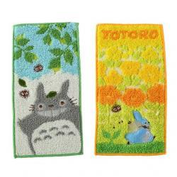 Mi vecino Totoro Set de 2 Mini Toallas Big and Medium Totoro 20 x 10 cm - Imagen 1