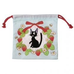 Nicky, la aprendiz de bruja Saco Marine Jiji & strawberries 20 x 19 cm - Imagen 1