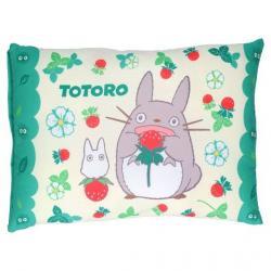 Mi vecino Totoro Cojín Totoro & Strawberries 28 x 39 cm - Imagen 1