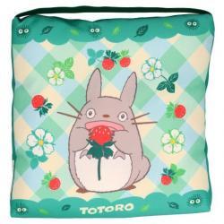 Mi vecino Totoro Cojín Totoro & Strawberries 30 x 30 x 5 cm - Imagen 1