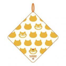 Mi vecino Totoro Mini Toalla Catbus Silhouette 33 x 33 cm - Imagen 1
