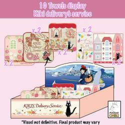 Nicky, la aprendiz de bruja Mini Toallas Expositor 25 x 25 cm (10) - Imagen 1