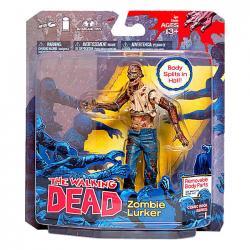 Figura Zombie Lurker The Walking Dead 13cm - Imagen 1