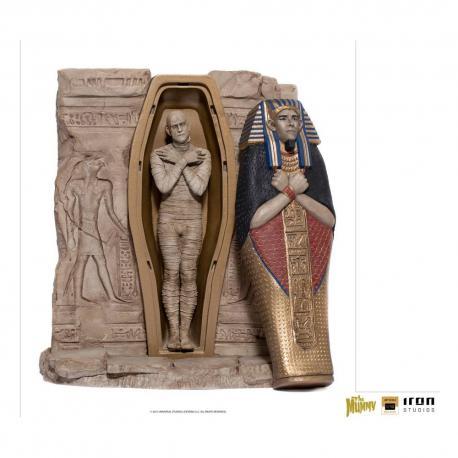 Universal Monsters Estatua 1/10 Deluxe Art Scale The Mummy 25 cm - Imagen 1