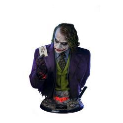 The Dark Knight Busto tamaño real Joker 82 cm - Imagen 1