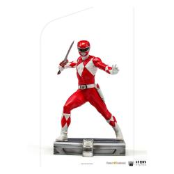 Power Rangers Estatua 1/10 BDS Art Scale Red Ranger 17 cm - Imagen 1