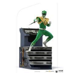 Power Rangers Estatua 1/10 BDS Art Scale Green Ranger 22 cm - Imagen 1