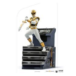 Power Rangers Estatua 1/10 BDS Art Scale White Ranger 22 cm - Imagen 1