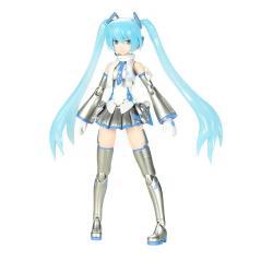 Hatsune Miku Frame Arms Girl Maqueta Plastic Model Kit Snow Miku 15 cm - Imagen 1